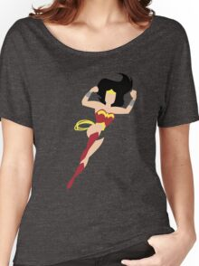 Minimalist Wonder Woman Women's Relaxed Fit T-Shirt