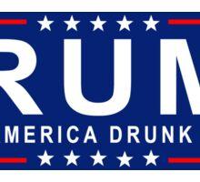 RUM: Make America Drunk Again! Sticker