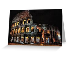 Colosseo Greeting Card