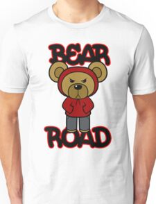 Bear Road (Red) Unisex T-Shirt