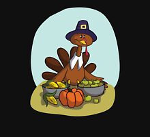 Happy Thanksgiving! Women's Fitted Scoop T-Shirt