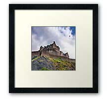 Edinburgh Castle (Colour) Framed Print