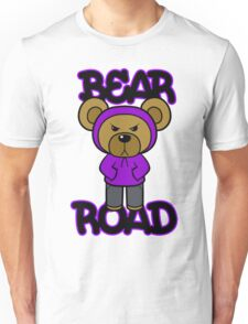 Bear Road (Purple) Unisex T-Shirt