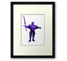 Giant Dad Framed Print