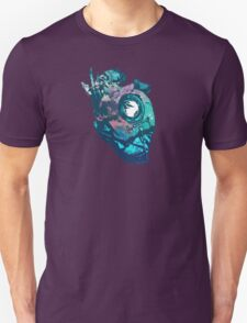 Dishonored - The Heart (Blue) Unisex T-Shirt
