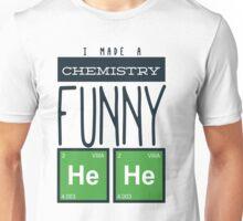 Whimsical Chemistry Geek Design Unisex T-Shirt