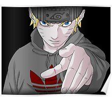 Naruto Roadman (UK Street clothing)  Poster