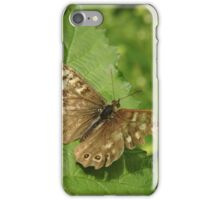 Butterfly With Broken Wingtip iPhone Case/Skin