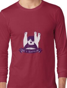steven universe/ smoky quartz Long Sleeve T-Shirt