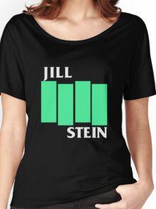 Jill Stein (Black Flag style) Women's Relaxed Fit T-Shirt