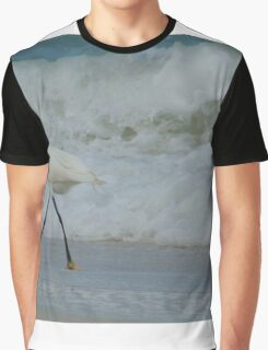 Strolling by the Shore Graphic T-Shirt
