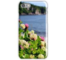 Clover on the Cliff iPhone Case/Skin
