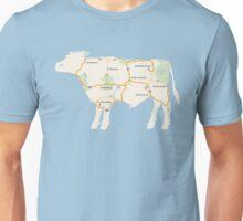 Meat Map Unisex T-Shirt