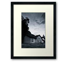 Bangour Abdandoned Building Framed Print