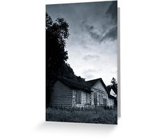 Bangour Abdandoned Building Greeting Card