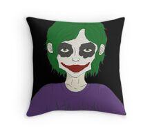Lil' Joker Throw Pillow
