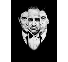 Trilogy - Godfather Photographic Print