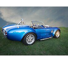 Cobra Blue Photographic Print
