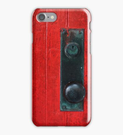 Come On In! iPhone Case/Skin