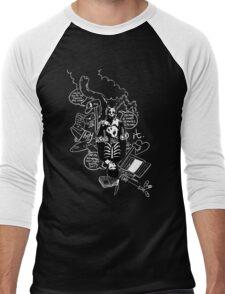 Donnie Darko (Black Background) Men's Baseball ¾ T-Shirt