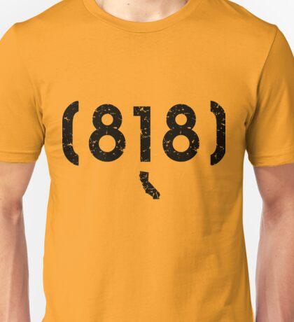 Area Code 818 California Unisex T-Shirt