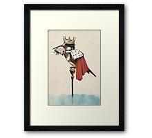 King Fisher Framed Print