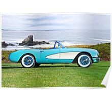 1957 Chevrolet Corvette Roadster I Poster