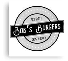 Bob's Burgers Logo Canvas Print