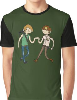 Walking Death Time Graphic T-Shirt