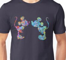 Love Is  Here  colorful watercolor Unisex T-Shirt