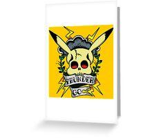 Thunder Pokemon Greeting Card