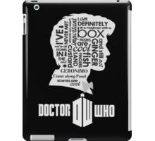 doctor who 11th doctor iPad Case/Skin