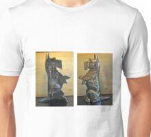 ANTIQUE BRASS SCOTTIE FIREPLACE TOOLS Unisex T-Shirt