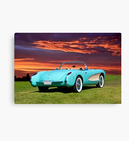 1957 Chevrolet Corvette Roadster II Canvas Print
