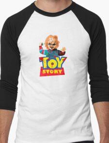 Chucky - A Toy Story (Parody) Men's Baseball ¾ T-Shirt
