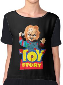 Chucky - A Toy Story (Parody) Chiffon Top