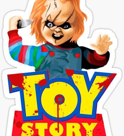 Chucky - A Toy Story (Parody) Sticker