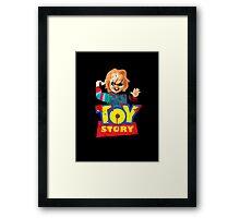 Chucky - A Toy Story (Parody) Framed Print