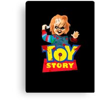 Chucky - A Toy Story (Parody) Canvas Print