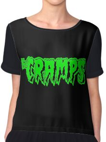 The Cramps (green) Chiffon Top