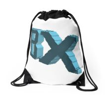 BX Logo Azur Drawstring Bag