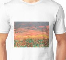 Grassland Sunset Unisex T-Shirt