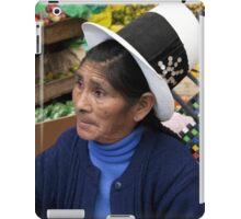 White Top Hat iPad Case/Skin