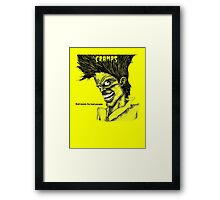 Bad music for Bad people Framed Print