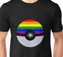 Gay Poké Ball - Black Version Unisex T-Shirt