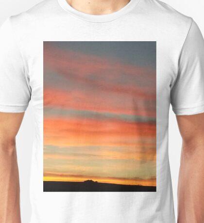 Sunset,  Romsey Unisex T-Shirt