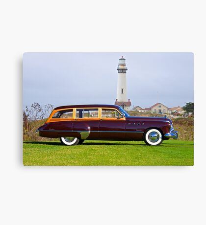 1949 Buick 79 Roadmaster Estate Wagon Canvas Print