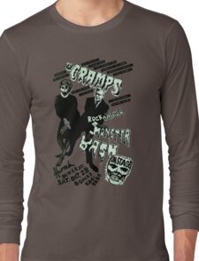 The Cramps - Concert Poster Long Sleeve T-Shirt