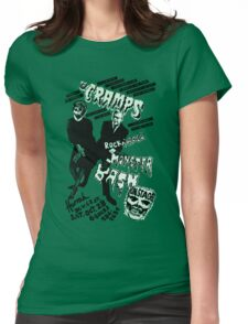 The Cramps - Concert Poster Womens Fitted T-Shirt