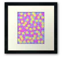Pretty Pixel Framed Print